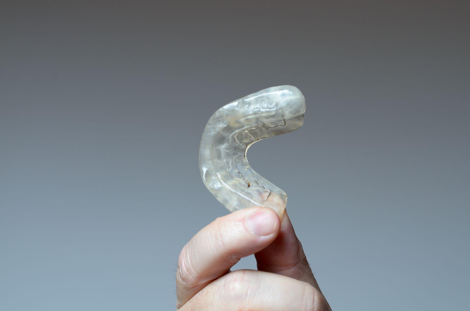 mandibular advancement device for sleep apnea
